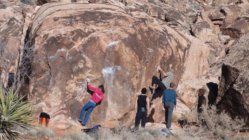 Rock Climbing Photo: I took this photo at Kraft Rocks yesterday afterno...