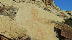 Rock Climbing Photo: Captain Aslab Boulder.