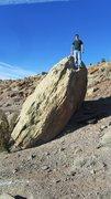 Rock Climbing Photo: Peachy Boulder.