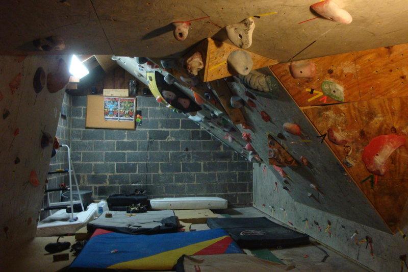 Rock Climbing Photo: My garage.