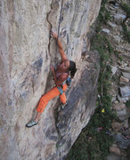 Rock Climbing Photo: Jen Perez enjoying First Blood.