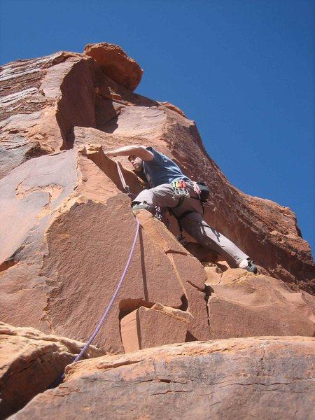 Rock Climbing Photo: Sandstone.