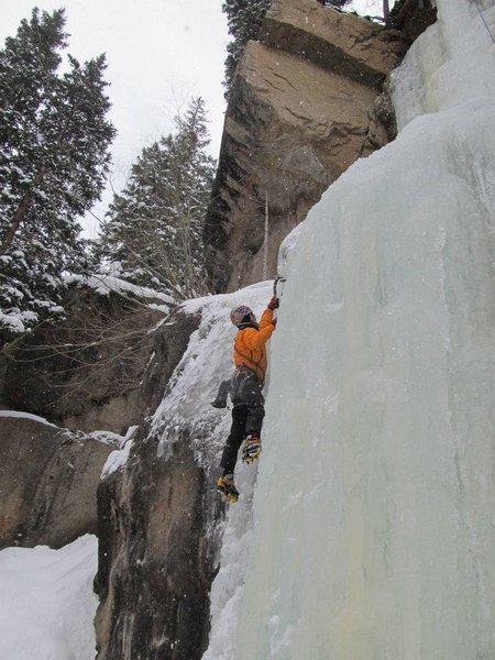 Hidden Falls main flow as of 12/2011.