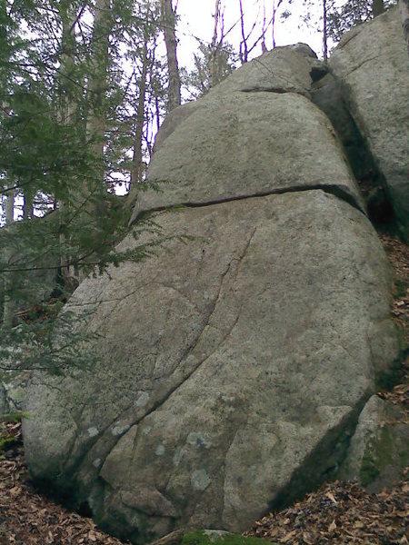 Rock Climbing Photo: Oz center.
