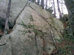 Rock Climbing Photo: Right face of Oz.