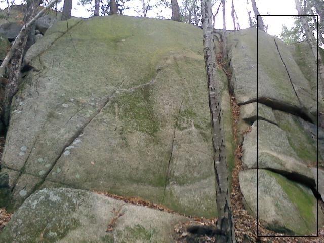 Rock Climbing Photo: Tin Man, 5.8.