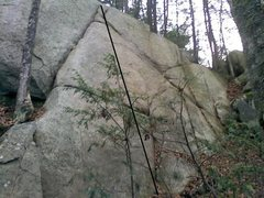 Rock Climbing Photo: Toto, 5.8.