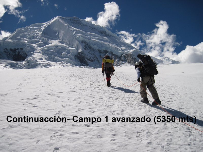 Rock Climbing Photo: Huascaran 2011 Peru: