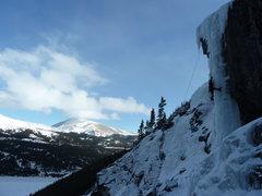 Rock Climbing Photo: Dec. 13, 2011 picked out pillar.