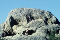 Rock Climbing Photo: Upper level of Handley Rock. Image stolen from roc...