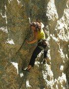 Rock Climbing Photo: me on rayguns at raycreation