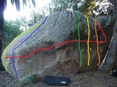 Rock Climbing Photo: Westmont Boulder North Face courtesy of: BreakingI...