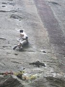 Rock Climbing Photo: another big move off an undercling