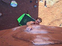 Rock Climbing Photo: V5 big bend, UT