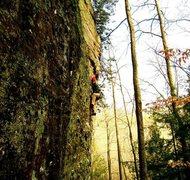 Rock Climbing Photo: audie 5.8