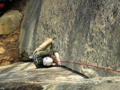 Rock Climbing Photo: roadside attraction 5.7; RRG