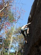 Rock Climbing Photo: just duet 5.10d, RRG