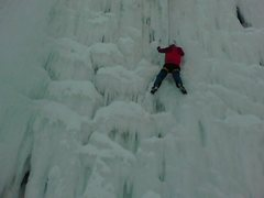 Rock Climbing Photo: ice pits in green bay, WI; WI5