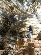Rock Climbing Photo: drew high off the deck with no gear, attack of the...