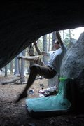 Rock Climbing Photo: the mechanic v6, curry bouldering