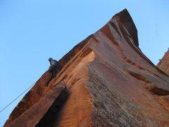 Rock Climbing Photo: Upper Shunes Buttress