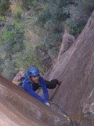 Rock Climbing Photo: First pitch of Shunes Buttress. Stellar!