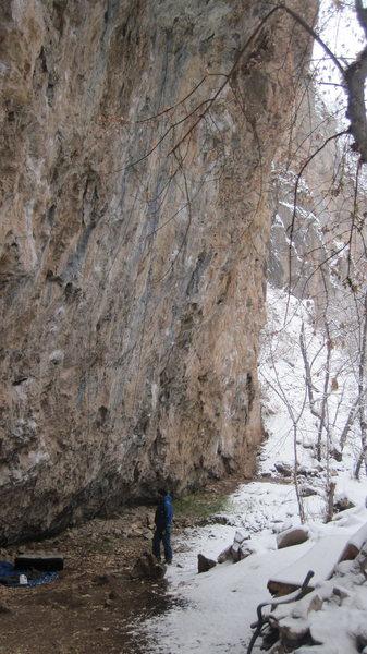 Rock Climbing Photo: pinch fest