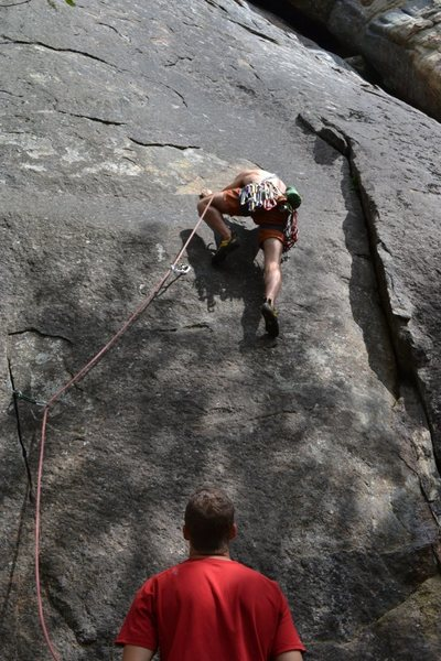 Rock Climbing Photo: Flexi-Flyer corner at right, Radio Flier var. bein...
