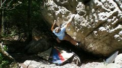 Rock Climbing Photo: Chetroy climbing Alcoholic Recovery.