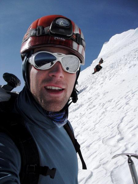 Rock Climbing Photo: Me on Rainier