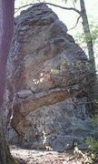 Rock Climbing Photo: Saddle Burr starts on the jugs at chest height tow...