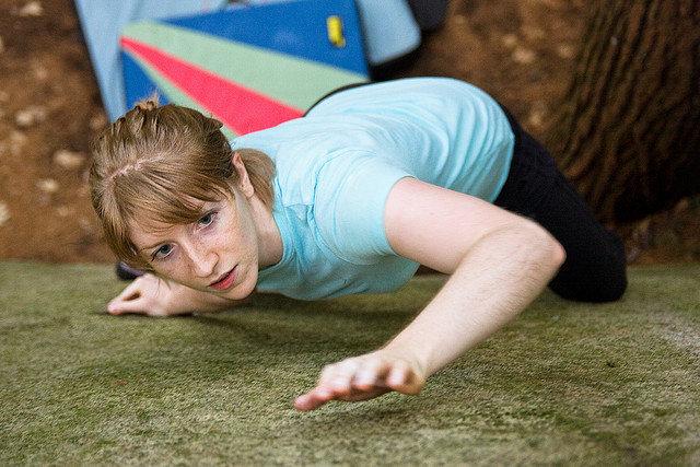 Ali Heiden climbing Essentials