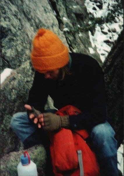 Rock Climbing Photo: Paul - Echo Canyon, 1975