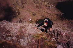 Rock Climbing Photo: Jay - Crestone Needle, 2002