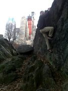Rock Climbing Photo: Central Park - NYC - Rat Rock in December