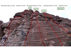 Rock Climbing Photo: Alien Wall Climbs