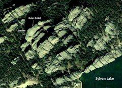Rock Climbing Photo: The Outlets via Google Maps