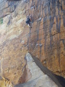 Rock Climbing Photo: Porter Jarrard on Q-Plus making it look easy 9-201...