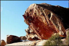 Rock Climbing Photo: Shot Hole