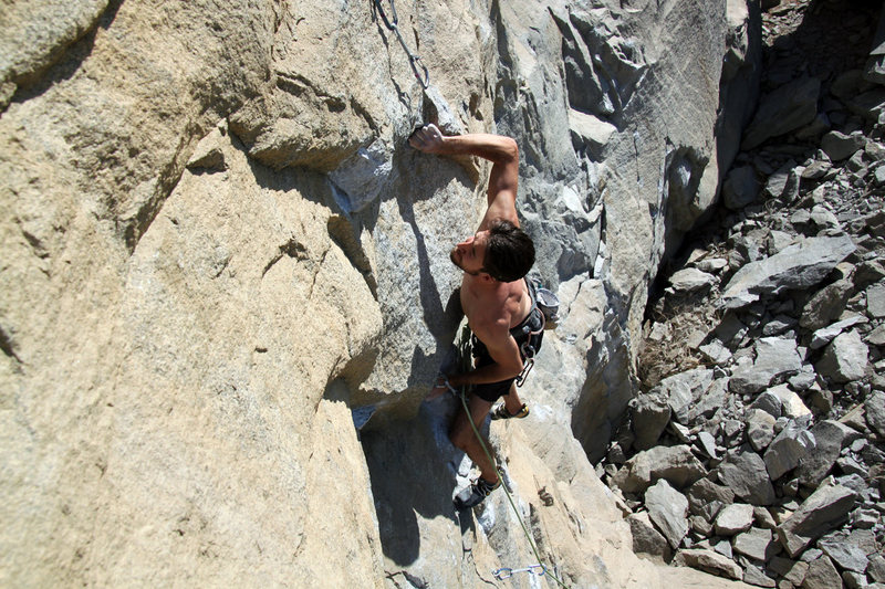 """""""The Ultimate"""" - 5.13a<br> Riverside Quarry"""