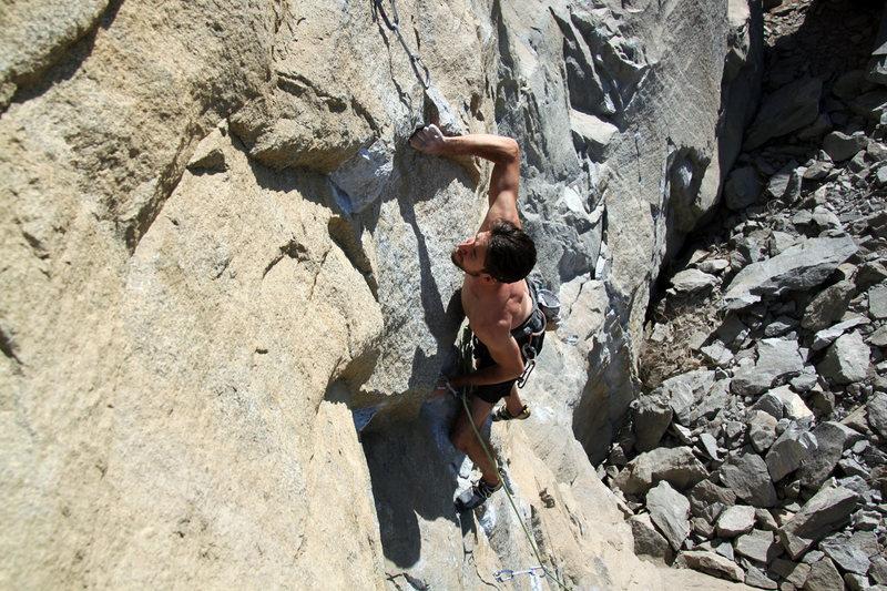 "Rock Climbing Photo: ""The Ultimate"" - 5.13a Riverside Quarry"