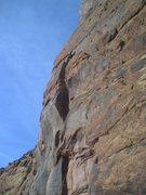 Rock Climbing Photo: First belay/last rap.