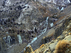 Rock Climbing Photo: Taken from Tioga Road on Dec 23, 2011. Formations ...