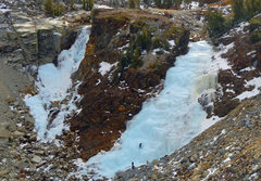 Rock Climbing Photo: These two formations are just below Ellery Lake. S...