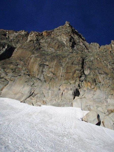 Southwest face of the Gross Bielenhorn