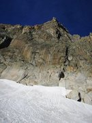 Rock Climbing Photo: Southwest face of the Gross Bielenhorn