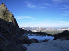 Rock Climbing Photo: Alpine pool near the Sidelen hut