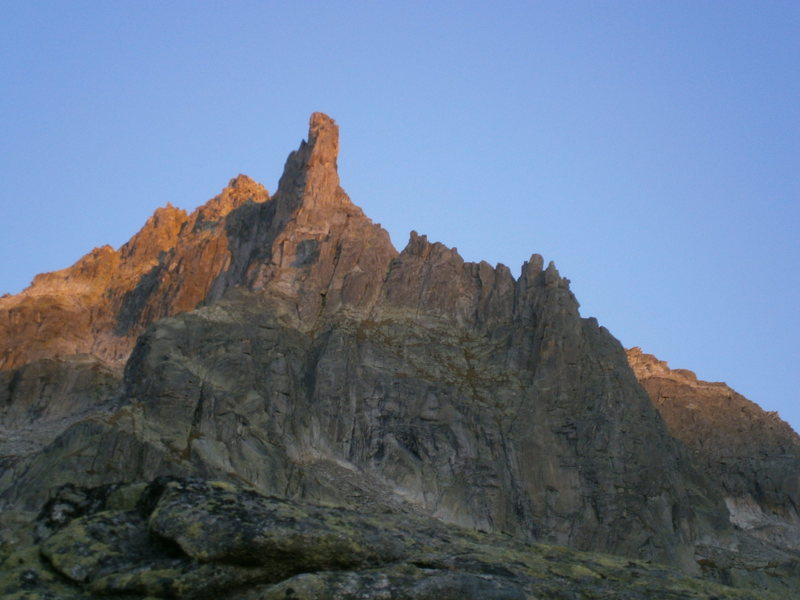 Rock Climbing Photo: Winterstock - the south face routes all ascend the...