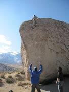Rock Climbing Photo: High Ball!