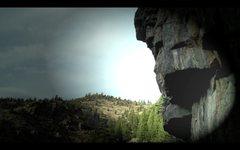 Rock Climbing Photo: Cruxin' on the extension.